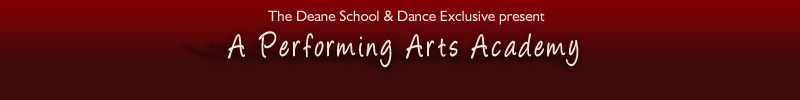 A Performing Arts Academy - Header